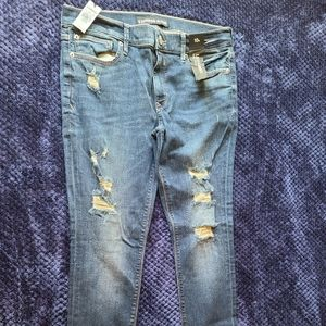 NWT Express Mid Rise Legging Jeans Size 10R